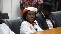 Nana Konadu Agyeman-Rawlings, flagbearer of the National Democratic Party (NDP)