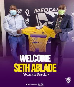 New Technical Director Of Medeama SC, Seth Ablade