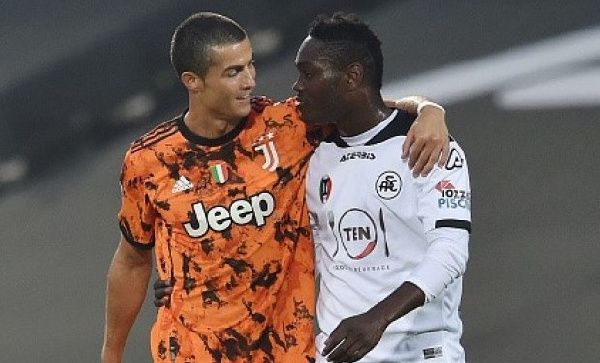 \'Every child must learn from Cristiano Ronaldo\' – Emmanuel Gyasi