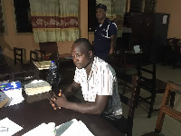 Assemblyman being interrogated at Cape Coast Central Police command