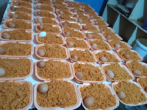 Government's free meal for final year JHS students