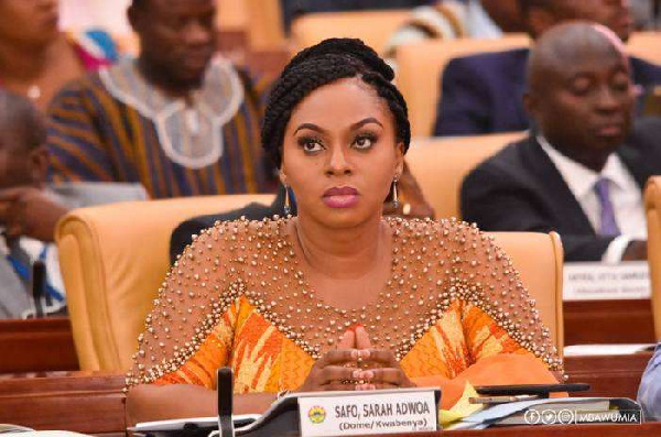 'I want to leave a lasting legacy as Gender Minister' – Adwoa Safo