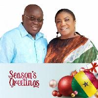 President-elect Akufo-Addo and wife Rebecca Akufo-Addo