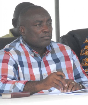 Kwabena Agyei Agyepong is the suspended National General Secretary of theNPP
