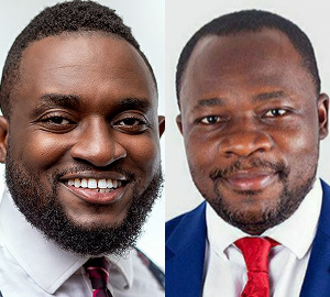 Dr. Anthony Afum Agyei Awuah and Dr Christopher Larbie