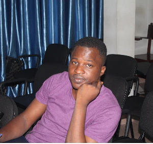Ghanaian journalist and blogger  Attractive Mustapha