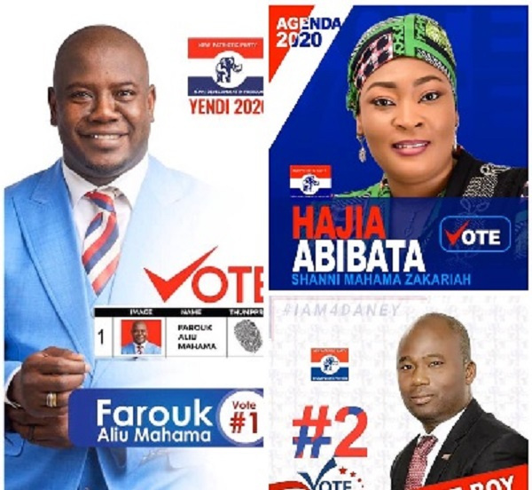 The NEC of the New Patriotic Party has cleared all three aspirants