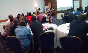 A section of Afri-Consult and Free To Grow executives