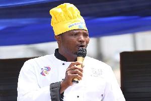 African chef Elijah Amoo Addo