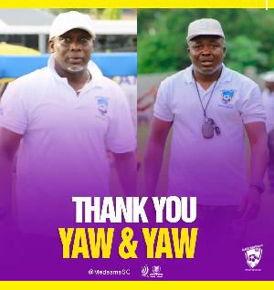 Yaw Preko and Yaw Acheampong