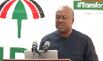 Flagbearer of the NDC, John Dramani Mahama
