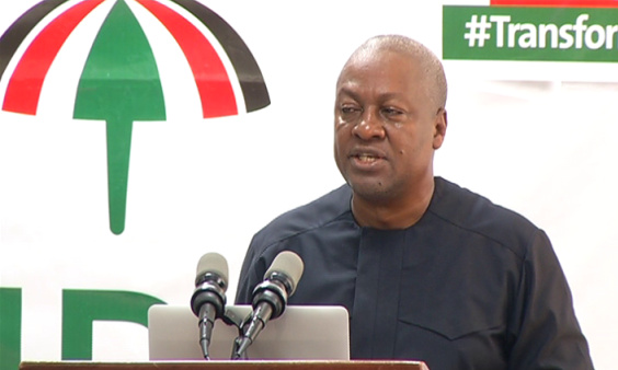 NDC administration to implement Free Primary HealthCare - Mahama