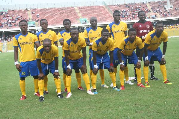New Edubiase United players