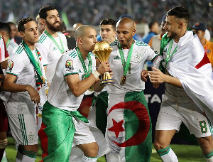 Algeria were winners of the 2019 AFCON