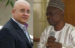 Fadi Dabbousi and A.B.A. Fuseini