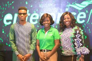 Diana Hamilton and Kofi Kinaata as brand ambassadors for Enterprise Life