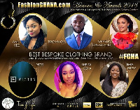 The awards show comes off in March with runway shows by some of Ghana's best fashion brands