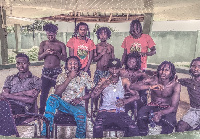Dancehall group Self Nation from Maamobi