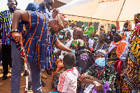 Mr Daniel McKorley urged corporate Ghana to give back to the less privileged