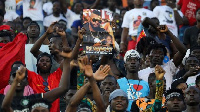 A concert, partially funded by the Ivorian government, was held in Abidjan on Friday