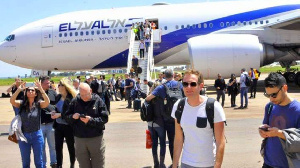 Israeli Tourists On Vacation