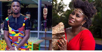 A Plus and Lydia Forson