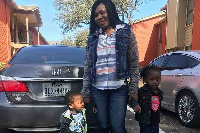 Ruby Agbemetsi and her kids killed in an accident
