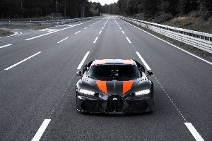 Bugatti Chiron Speed Record