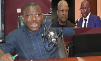 Mr Adongo believes Dr. Bawumia and John Mahama do not have the same academic qualifications
