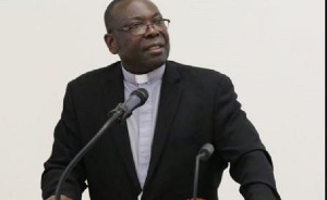 Rev. Dr Seth Senyo Agidi is the Moderator of the General Assembly of Evangelical Presbyterian Church