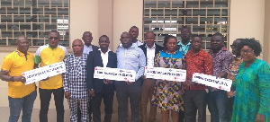 The newly elected members of Eastern Regional Football Association