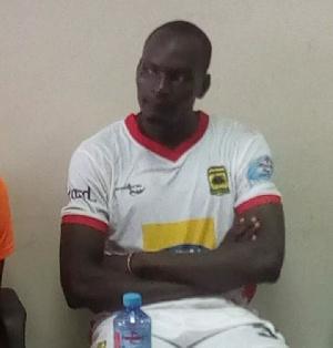 Ugandan striker, George Abege