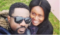 Sarkodie and his wife Tracy