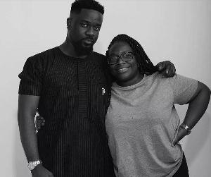 Nana Odum and client, Rapper Sarkodie
