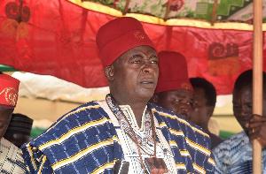 P3 Denis Asagpaare Balinia Adda ll, Paramount Chief, Navrongo Traditional Area,