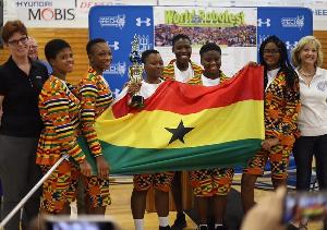 All-girls robotics team from Ghana