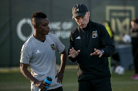 Latif Blessing has netted three goals for Los Angeles FC in his last five games