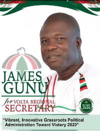 James Gunu is an aspiring Regional Secretary for the National Democratic Congress