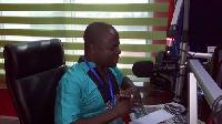Ashanti Regional Communications Officer for the NDC, Samed Akalilu