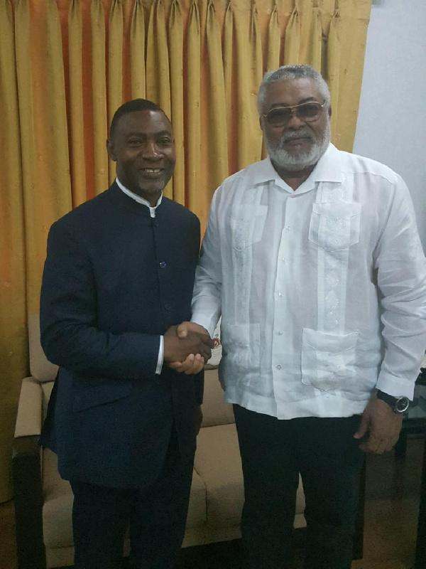 Reverend Dr Lawrence Tetteh eulogises former President Rawlings