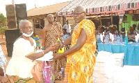Nana Onwona Asare, the Odikro of Nkawkaw Domeabra