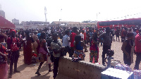 Most of the affected passengers are travelling to Kumasi