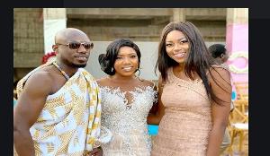 Blogger Nkonkonsa, Victoria Lebene and Yvonne Nelson