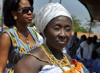 Ms Abla Dzifa Gomashie, the Deputy Minister of Tourism, Culture and Creative Art