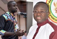 Manasseh Azure Awuni and Adjenim Boateng Adjei