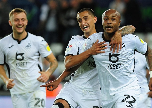 Swansea City slap £18m price tag on star player Andre Ayew