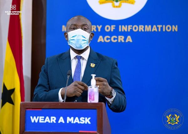 Living with coronavirus – Oppong Nkrumah explains Health Minister's stance