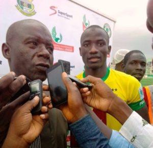 Head coach for Kano Pillars, Ibrahim Musa