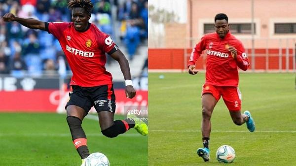 Lumor Agbenyenu and Baba Rahman to leave Spanish La Liga side Real Mallorca