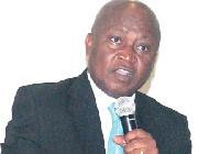 AGI President, Dr. Yaw Adu Gyamfi